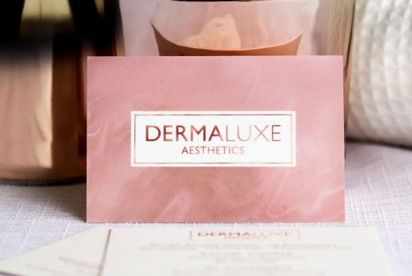 Dermaluxe Aesthetics Business Cards